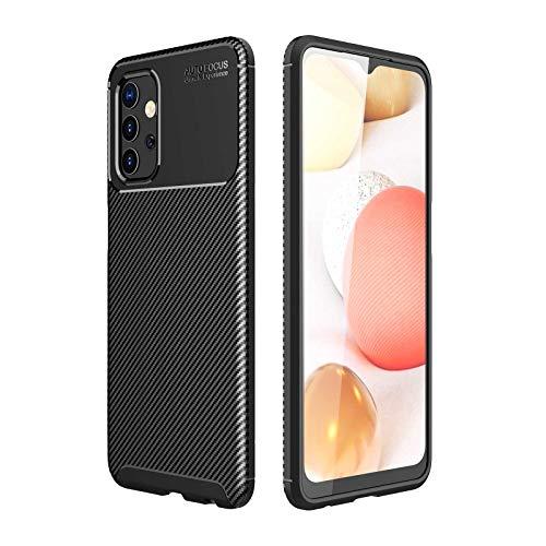 GOKEN Funda para Xiaomi Mi 11X Pro, TPU Silicona Fibra de Carbono Protección Carcasa, Bumper Caso Case Cover con Shock- Absorción, Negro