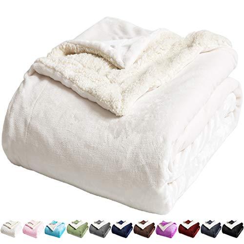LBRO2M Sherpa Fleece Bed Blanket