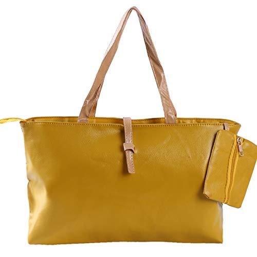 JIUZUI Gym Handbag, Generic Shopping Basket Bags Fruit Organizer for Outdoor Activities,Yellow