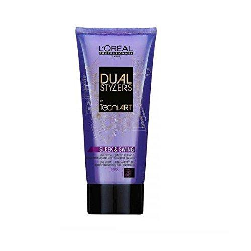Loreal Sleek & Swing 1 x 150 ml Dual Stylers Tecni.art Smooth Glättung für kräftiges & widerspenstiges Haar