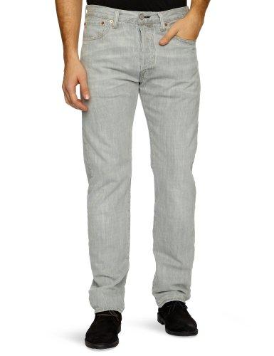 Levi's Herren 501 Original Fit' Jeanshosen, Grau (Grey Oxide 1444), 36W / 32L