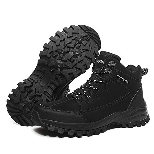 HHORD wasserdichte Wanderschuh, Wanderschuhe Für Outdoor Trekking Backpacking Bergsteigen, Mid Wasserdicht Ankle Boot,C,39