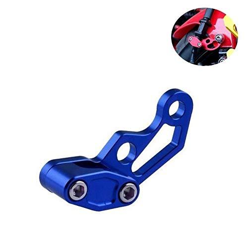 Ersatzteile für Motorräder, CNC-Motorrad-Bremsleitung Schellen for Yamaha MT-07 R6 R3 MT 07/07/09 TMAX 500/530 R1 FZ6 MT09 XJ6 FZ1 Fazer XJ6 M109r Zubehör (Farbe : Blau)