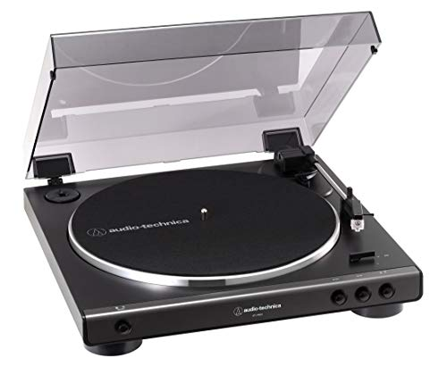 audio-technica フルオートレコードプレーヤー ダークガンメタリック AT-LP60X DGM