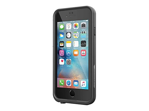 "Lifeproof FRē Series Iphone 6 Plus/6s Plus Waterproof Case (5.5"" Version) - Retail Packaging - Black"