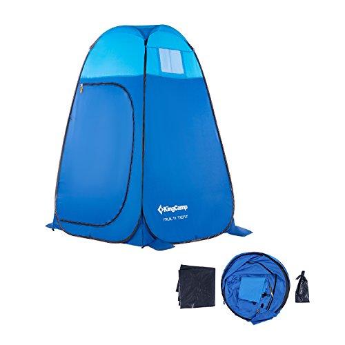 KingCamp Pop Up Dressing Changing Tent Shower Room Detachable Floor