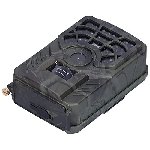 Fudax Cámara de Caza, cámara infrarroja CMOS en Color de 5MP WiFi y aplicación Integrados Impermeable 8GB-128GB para desiertos para bosques Tropicales