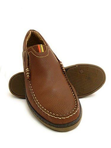 Zerimar Náuticos de Piel   Náuticos Hombre Verano   Zapatos Náuticos Hombre   Mocasines Hombre   Tallas Grandes 46-50