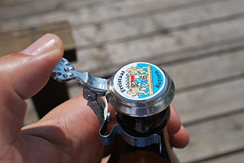 Botellas de cerveza de Baviera estaño tapa protección antimosquitos