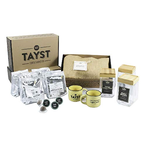 Tayst Coffee Pods 150 count Office Variety Pack | Keurig K Cup Compatible | 100% Compostable & Biodegradable | Premium Wholesale Office Coffee