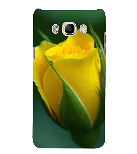 Fiobs Designer Back Case Cover for Samsung Galaxy J7 (6) 2016 :: Samsung Galaxy J7 2016 Duos :: Samsung Galaxy J7 2016 J710F J710Fn J710M J710H (Rose Flowers Floral Ful Yellow Gulaab Aroma Smell)