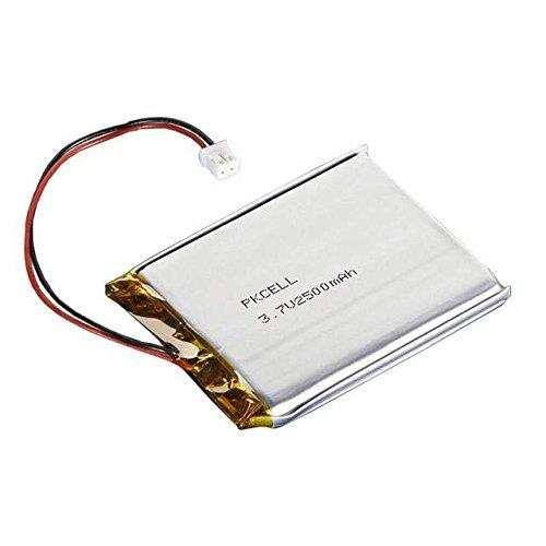 Adafruit 328 Battery, Lithium Ion Polymer, 3.7V, 2500mAh, 2 x 2.55 x 0.30 Size