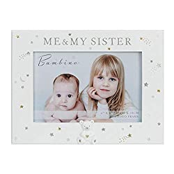 """Me and Brother Photo Frame With Raised Teddy Icon Resin Mould Celebrate your beautiful babies with this 6"""" x 4"""" 'Me & My Brother' landscape photo frame. From Bambino Parents & Family - bringing families together over a precious new arrival. This moul..."""