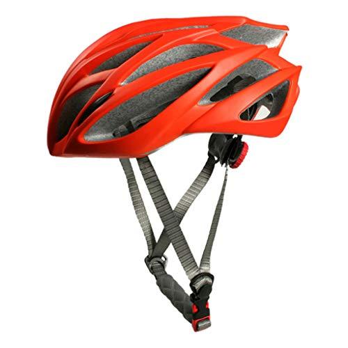 WOWOWO Casco de Bicicleta Casco de Bicicleta MTB Ultraligero Unisex Casco de Seguridad para Carreras de montaña