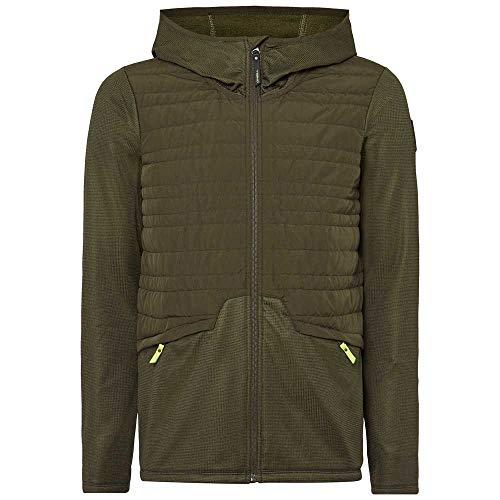 O'Neill Pm Athmos Baffle Mix Fleece-6058 Forest Night-M, Herren-Shirt, M
