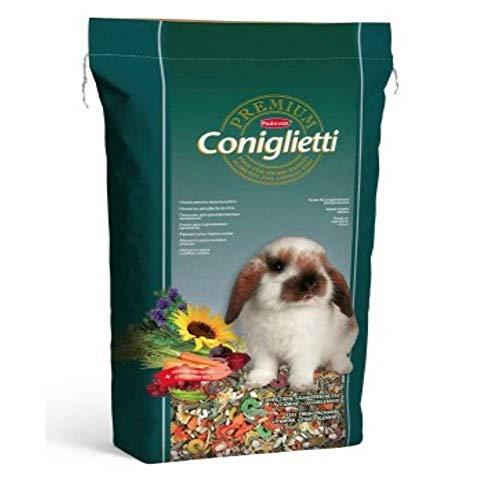Padovan Premium Coniglietti - Alimento per conigli con vitamine - 18 Kg