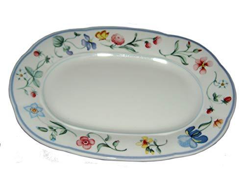 Villeroy & Boch Mariposa kleine Platte/Unterteller für Sauciere 15 x 21,3cm