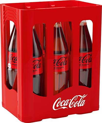 Coca-Cola Zero Sugar MEHRWEG, (6 x 1,0 l)