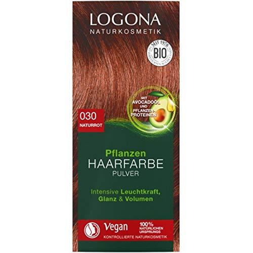 Logona Pflanzen-Haarfarbe-Pulver naturrot (100 g)