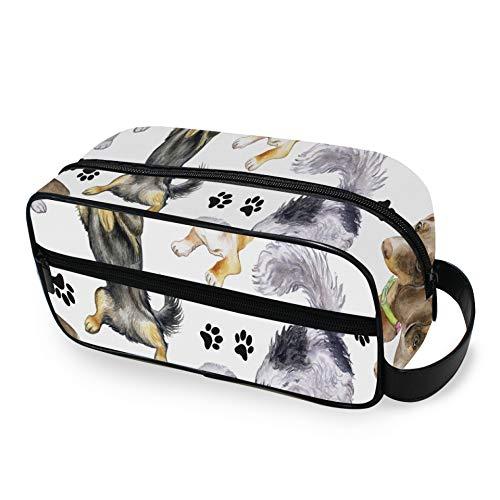 Cute Animal Dog Paw Print 659139022 Organizador de Neceser de Viaje con...