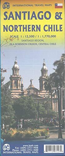 ITM City Map Santiago 1 : 12 500 / Northern Chile 1 : 1 770 000: Santiago Region, Isla Robinson Crusoe, Central Chile