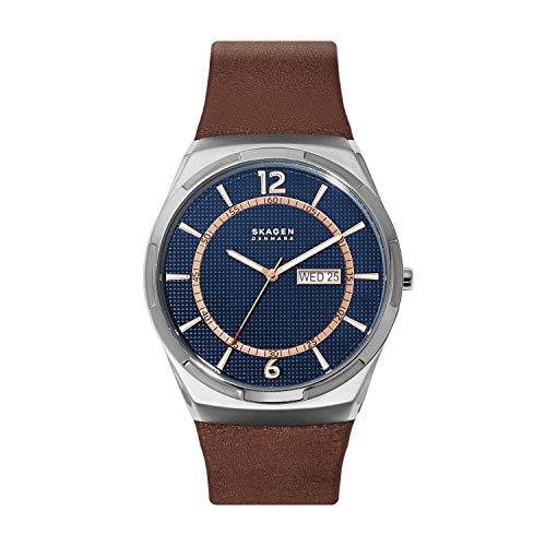 Skagen Herren Analog Quarz Uhr Watch SKW6574