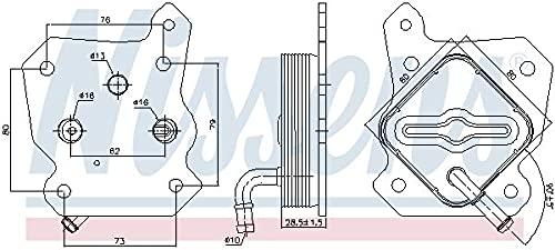 Nissens 90790 Radiateur d'huile de moteur