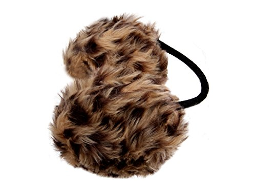 Alsino Ohrwärmer Kunstfell Ohrenschützer mit Nackenbügel Earmuffs, Ohrwärmer wählen:OW-02 leopard braun