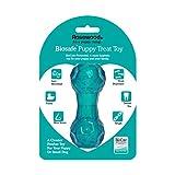 Rosewood Jouet Interactif de Distribution de Friandises pour Chiots Bleu 11 cm Taille Petit