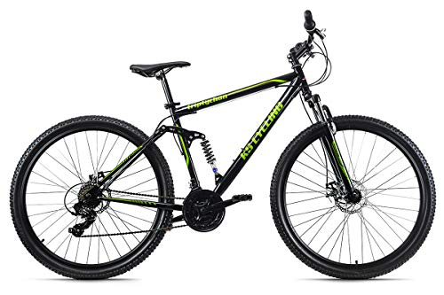 KS Cycling Mountainbike MTB Fully 29'' Triptychon schwarz RH 51 cm
