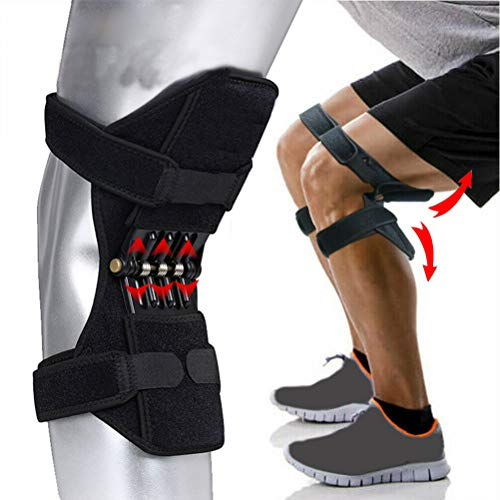 Wiivilik Kneepad 1 Paar Sport Frühling Kniegelenk Schutz Boosters Knieschoner Bergsteigen Running Knee Boosters