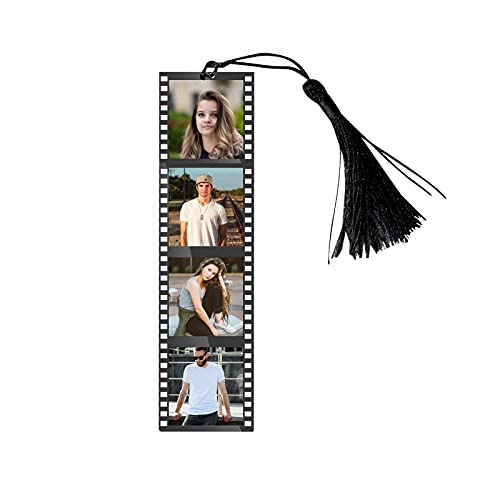 Customize Photos Bookmarks/ Page Markers for Students, Book Lovers and Office Use,The Best Gifts for dad, mom, boy, Girl, Boyfriend, Girlfriend, Christmas, Valentine's Day(3pcs)