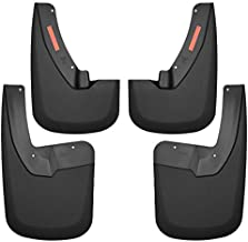 Husky Liners Fits 2009-18 Dodge Ram 1500, 2019 Dodge Ram 1500 Classic, 2010-18 Ram 2500/3500 - with OEM Fender Flares Custom Front and Rear Mud Guard Set