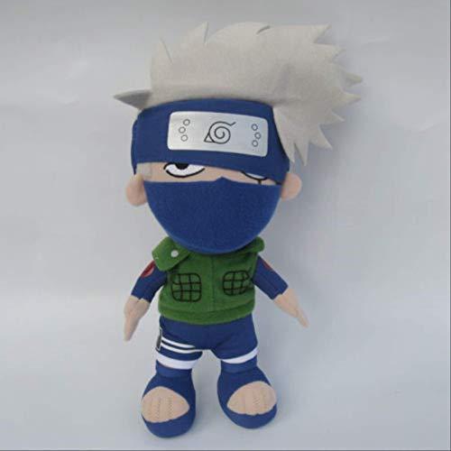 GHJU Naruto Kakashi Hatake Plüschtiere Geburtstags-Geschenke for Kinder Dekorieren Kinderzimmer 20Cm QingQiao
