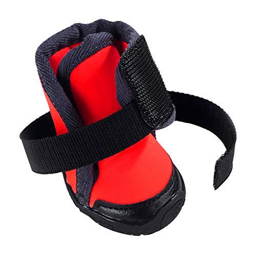 Mingtongli Puppy Shoes Antislip Outdoor Sports Dog bergschoenen Ademende huisdierenpoten Protector, 90
