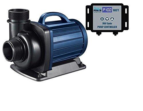 AquaForte Pompe filtrante pour Bassin DM-20000 Vario, réglable en continu Entre 34 et 187 W, 9-20 m³/h, Hauteur de refoulement : 7 m