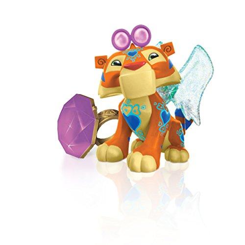 Animal Jam Tiger mit Ring Spielfigur leuchtende Ring aufleuchtenden Flügeln NEU