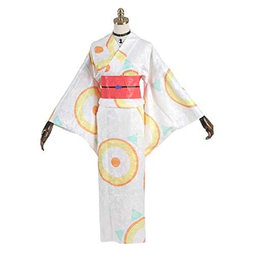 Traje De Cosplay De Anime Traje De Mascarada De Las Señoras De La Cintura del Traje Chaqueta Yukata Personalizados Ciclo 15 Días,Clothing Set- Large Size