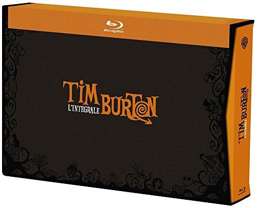 Tim Burton Collection - 17-Disc Box Set ( Pee-wee's Big Adventure / Beetlejuice / Batman / Edward Scissorhands / Batman Returns / The Nightmare Before Christmas [ Blu-Ray, Reg.A/B/C Import - France ]