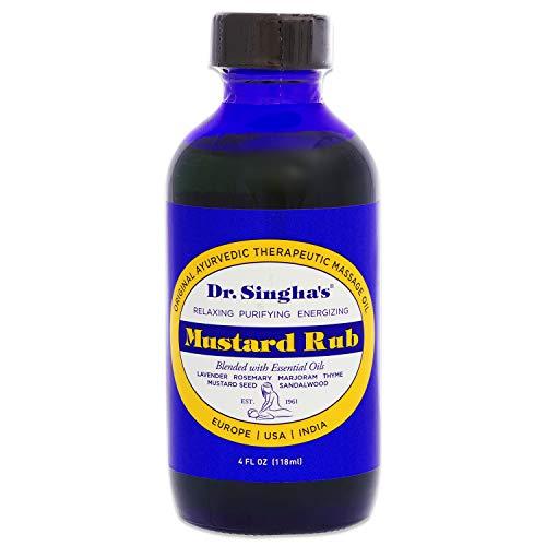 Dr. Singha's Mustard Bath Rub, 4 Ounce by Cutting Edge International, LLC