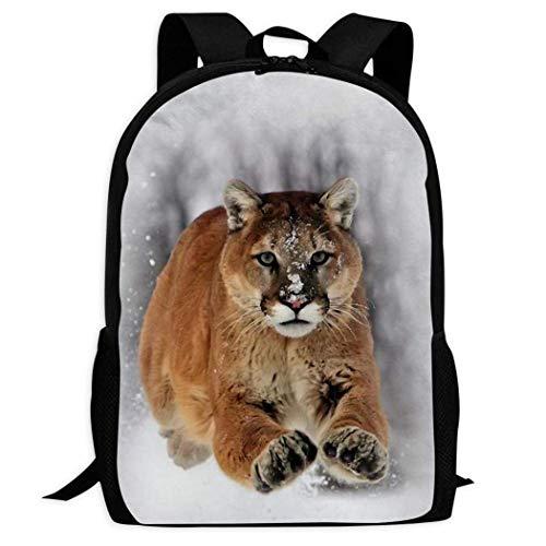 FGHJY Mochila Cougar Bookbag Mochila de Viaje Mochilas Escolares Bolsa para computadora portátil