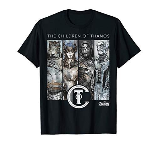 Marvel Infinity War Children of Thanos Graphic T-Shirt