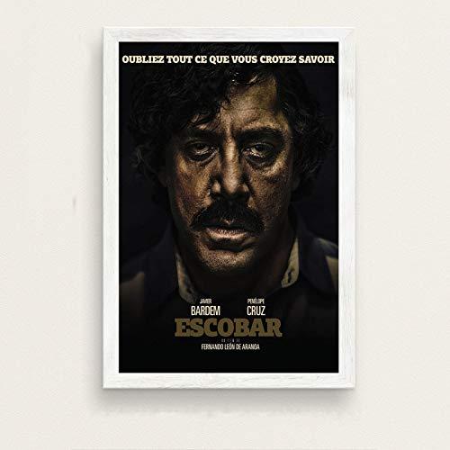 Pablo Escobar Hot Beroemde Kunst Schilderij Zijde Canvas Poster Muur Decor_50x60cm