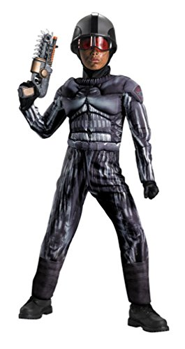 Operation Rapid Strike Red Sector Exo Swat Classic Muscle Boys Costume, 7-8