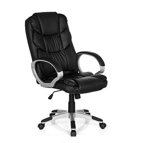 MyBuero Chaise Gaming, Fauteuil Gamer Relax BY155 Simili-Cuir Noir 722300