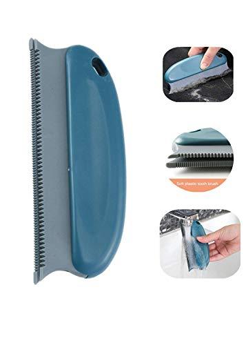 Cepillo de pelo para mascotas Perro Gato Aseo Deshedding Tool Cleaner Masaje Peine relajante Cepillo de pelo para mascotas para mantas / Ropa / Coche / CamaAlfombra / Sofá / Muebles