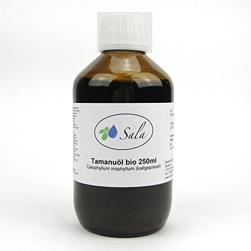 Sala Tamanuöl kaltgepresst bio 250 ml Glasflasche