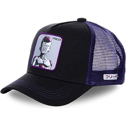 Nuevo 62 Estilos de Dibujos Animados Gorra de bisbol de algodn Gorra de bisbol Hombres Mujeres Hip Hop pap Sombrero de Malla Camionero-Frieza
