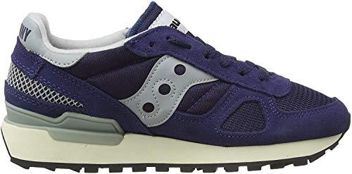 Saucony Shadow Original Vintage, Zapatillas de Gimnasia Unisex Adulto, Azul (Navy/White 3), 40.5 EU