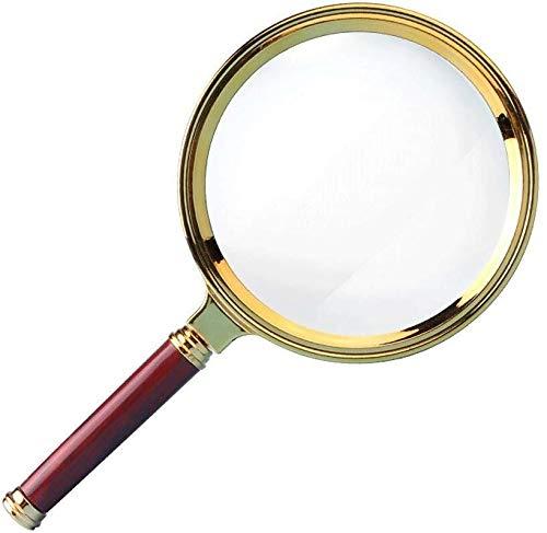 Vergrootglas De Portable Optical Vergrootglas ABS HD High Vergroting 10x vergrootglas oude kinderen handloep microscoop